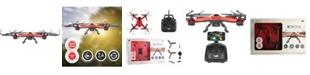 GROOVY TOYS LLC/XDRONE XDrone HD 2 v19 2.4GHZ 0.3MP Camera USB 1GB Headless Auto Takeoff