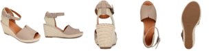 Gentle Souls by Kenneth Cole Women's Charli Espadrille Wedge Sandals