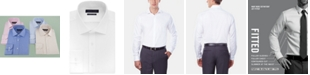Tommy Hilfiger Men's Athletic Fit Performance Stretch TH Flex Collar Solid Dress Shirt