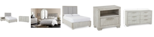 Furniture CLOSEOUT! Camilla Bedroom Furniture, 3-Pc. Set (California King Bed, Nightstand & Dresser), Created for Macy's