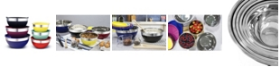 Elite by Maxi-Matic Elite Gourmet 12 piece Colored Mixing Bowl