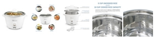 Elite by Maxi-Matic Elite Platinum 10 Cup Rice Cooker with Stainless Steel Cooking Pot