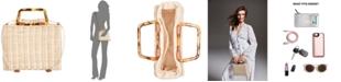 INC International Concepts I.N.C. Straw Picnic Crossbody, Created for Macy's