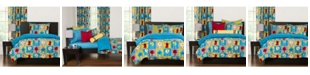 Crayola Monster Friends 6 Piece King Duvet Set