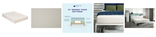Signature Sleep Cally 12'' Memory Foam Mattress Foam, King