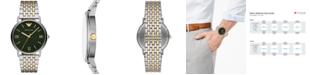 Emporio Armani Men's Two-Tone Stainless Steel Bracelet Watch 41mm