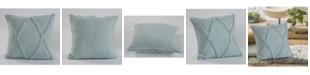 LR Resources Inc. Tufted Diamond Shape Throw Pillow