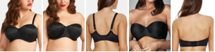 Elomi Full Figure Smoothing Underwire Strapless Convertible Bra EL1230, Online Only