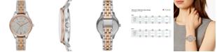Michael Kors Women's Lexington Tri-Tone Stainless Steel Bracelet Watch 36mm