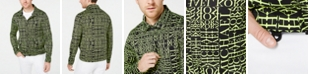 Michael Kors Men's Stretch Neon Logo Coach Jacket