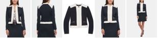 Tommy Hilfiger Zippered Contrast-Border Jacket