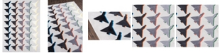 "Novogratz Collection Novogratz Lulu Lul-2 Gray 7'6"" x 9'6"" Area Rug"