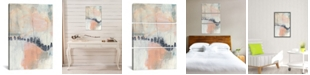iCanvas  Blush and Navy I by Jennifer Goldberger Gallery-Wrapped Canvas Print Collection