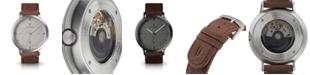 Lilienthal Berlin Zeitgeist Automatik Light Brown Leather Watch 42mm