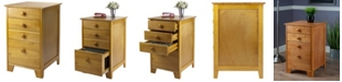 Winsome Wood Studio Filing Cabinet