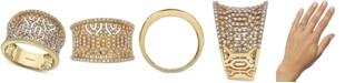 EFFY Collection EFFY® Diamond Pavé Openwork Statement Ring (3/4 ct. t.w.) in 14k Gold