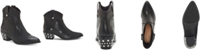 INC International Concepts I.N.C. Latisha Western Studded Booties, Created for Macy's
