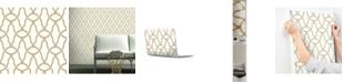 York Wallcoverings Trellis Peel & Stick Wallpaper