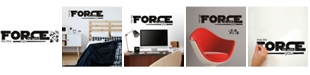 York Wallcoverings Star Wars Classic May The Force Pands Wall Decals