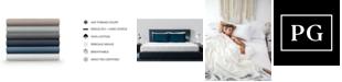 Pillow Guy Classic Cool & Crisp 100% Cotton Percale 4-Piece Sheet Sets