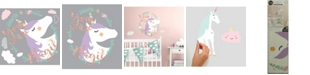 York Wallcoverings Unicorn Magic Peel and Stick Giant Wall Decals