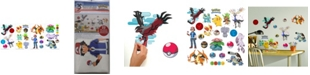 York Wallcoverings Pokemon XY Peel and Stick Wall Decals