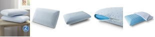 Rio Home Fashions Arctic Sleep 2 Pack Cool-Blue Memory Foam Conventional Pillow - Standard