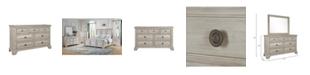 Furniture Passages Light 7-Drawer Dresser