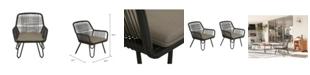 Novogratz Collection Novogratz Poolside Collection Marli Lounge Chairs, 2-Pack