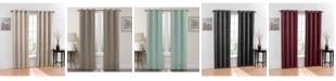 """Regal Home Chevron Blackout 2-Pack Grommet Curtain, 76"""" x 63"""""""