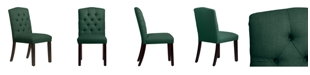 Skyline Jillian Tufted Arched Dining Chair