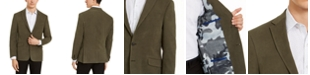 Kenneth Cole Reaction Men's Slim-Fit Stretch Faux-Suede Sport Coat