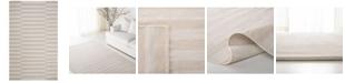 Lauren Ralph Lauren Ludlow Stripe LRL7350D Alabaster 4' X 6' Area Rug