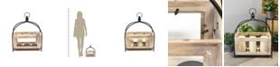 Stratton Home Decor Stratton Home Decor Rustic Wooden Lantern
