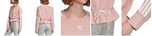 adidas Women's Bellista Tie Sweatshirt