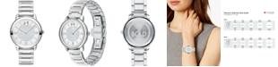 Movado Women's Swiss Bold Stainless Steel Bracelet Watch 32mm