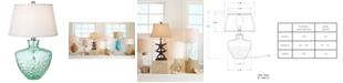 Kathy Ireland CLOSEOUT! Pacific Coast Sea Glass Table Lamp