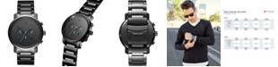 MVMT Men's Chrono Gunmetal Stainless Steel Bracelet Watch 45mm