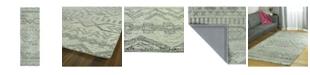 """Kaleen Palladian PDN04-77 Silver 2'6"""" x 8' Runner Rug"""