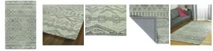 Kaleen Palladian PDN04-77 Silver 4 'x 6' Area Rug