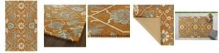 Kaleen Zocalo ZOC01-89 Orange 8' x 10' Area Rug