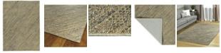"Kaleen Tulum Jute TUL01-103 Slate 7'6"" x 9' Area Rug"