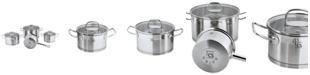 CS KOCHSYSTEME Herten 7 Piece Stainless Steel Cookware Set