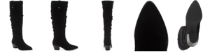 INC International Concepts INC Women's Launa Pointed-Toe Slouch Boots, Created for Macy's