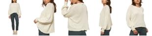 O'Neill Juniors' Seaport Balloon-Sleeve Sweater
