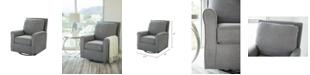 Abbyson Living Templen Gliding Accent Chair