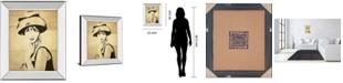 "Classy Art Fashion News I by Wild Apple Graphics Mirror Framed Print Wall Art, 22"" x 26"""