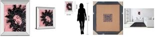 "Classy Art Star II by Oksana Leadbitter Mirror Framed Print Wall Art, 22"" x 26"""