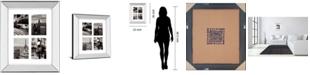 "Classy Art City Composite by Joseph Eta Mirror Framed Print Wall Art, 22"" x 26"""