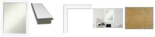 "Amanti Art Cabinet Framed Bathroom Vanity Wall Mirror, 21.25"" x 27.25"""
